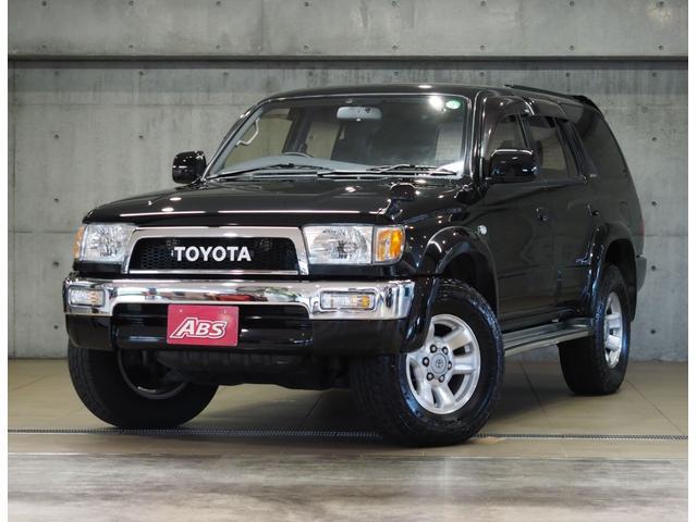 沖縄県の中古車ならハイラックスサーフ SSR-Xリミテッド ワイド ディーゼルターボ 4WD トヨタエンブレム クラシックグリル USヘッド 新品メッキバンパー 背面タイヤ