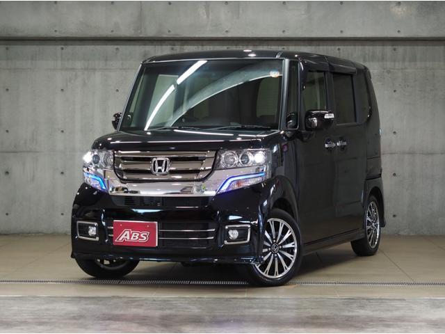 沖縄の中古車 ホンダ N-BOXカスタム 車両価格 148万円 リ済別 2016(平成28)年 0.6万km ブラック