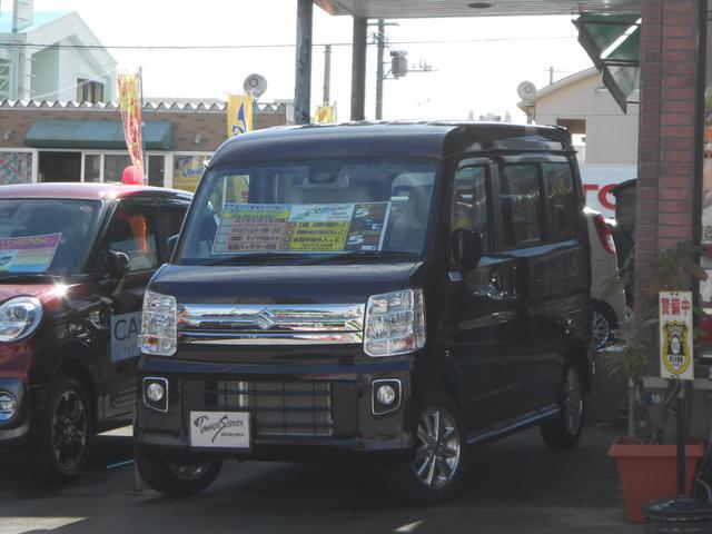 沖縄県の中古車ならエブリイワゴン PZターボハイルーフ新車未登録