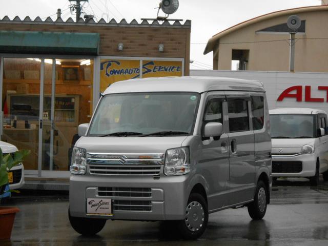 沖縄の中古車 スズキ エブリイ 車両価格 117.5万円 リ未 新車  シルキーシルバーメタリック