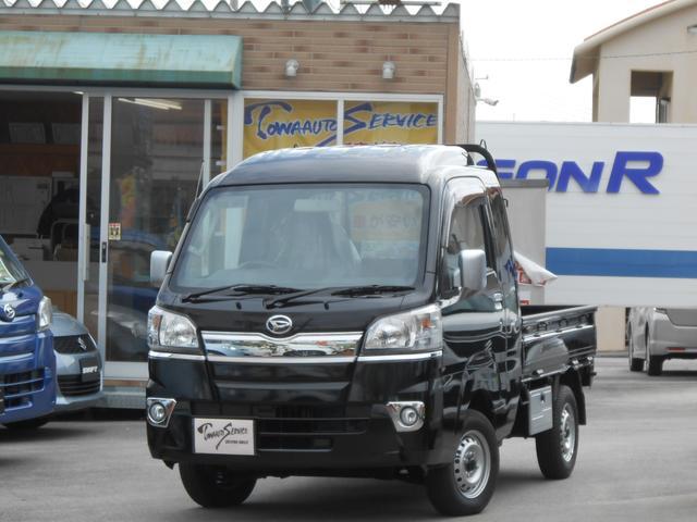 沖縄の中古車 ダイハツ ハイゼットトラック 車両価格 114.4万円 リ未 新車  ブラックマイカメタリック