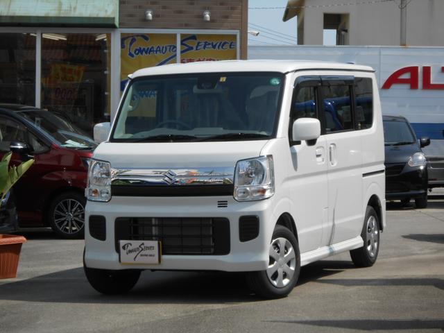 沖縄県の中古車ならエブリイワゴン JPターボ新車未登録