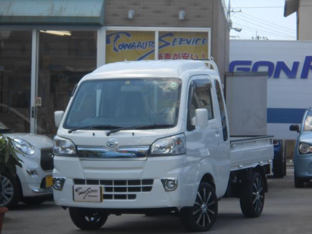 沖縄の中古車 ダイハツ ハイゼットトラック 車両価格 114.4万円 リ未 新車  ホワイト