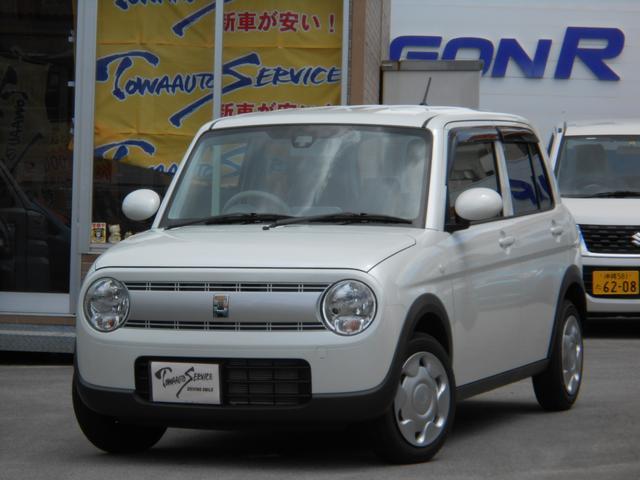 沖縄の中古車 スズキ アルトラパン 車両価格 120.2万円 リ未 新車  パールホワイト
