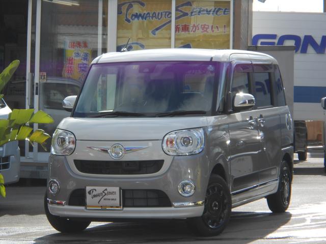 沖縄県の中古車ならムーヴキャンバス Gメイクアップ SAII新車未登録