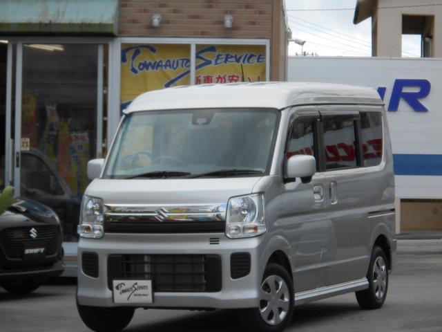 沖縄県の中古車ならエブリイワゴン 車イス移動車 新車未登録