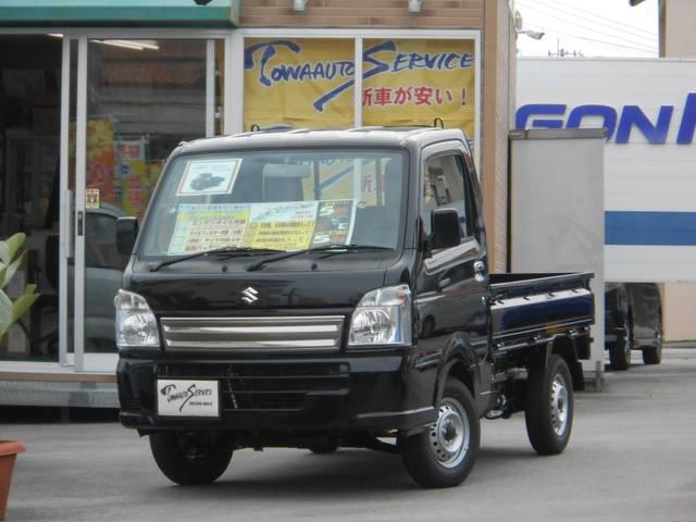 沖縄の中古車 スズキ キャリイトラック 車両価格 93.2万円 リ未 新車  ブルーイッシュブラックパール