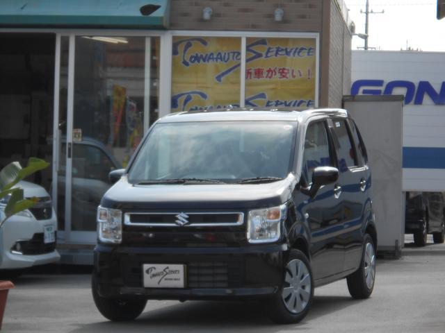 沖縄県沖縄市の中古車ならワゴンR ハイブリッドFX新車未登録