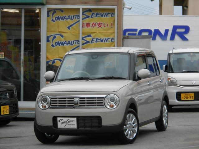 沖縄県の中古車ならアルトラパン Fリミテッド新車未登録