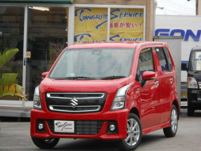 沖縄県の中古車ならワゴンRスティングレー ハイブリッドX新車未登録