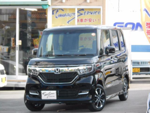 沖縄県の中古車ならN-BOXカスタム G・EXホンダセンシング