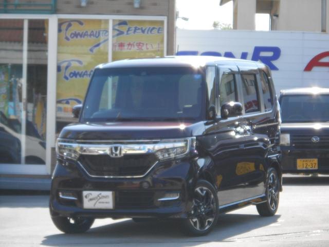 沖縄県の中古車ならN-BOXカスタム G・Lターボホンダセンシング新車未登録