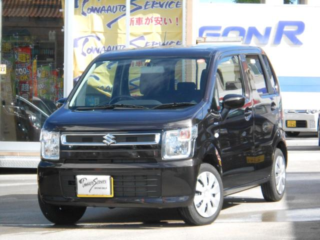 沖縄の中古車 スズキ ワゴンR 車両価格 95万円 リ済込 平成30年 1.0万km アーバンブラウンパールメタリック