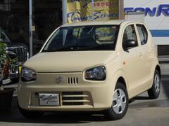 沖縄の中古車 スズキ アルト 車両価格 75万円 リ済込 平成29年 0.7万K シフォンアイボリーメタリック