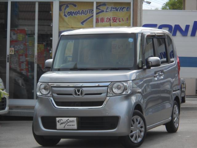 沖縄県の中古車ならN-BOX G・スロープLホンダセンシング新車未登録