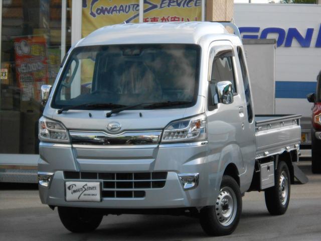 沖縄の中古車 ダイハツ ハイゼットトラック 車両価格 124.7万円 リ未 新車  ブライトシルバーメタリック
