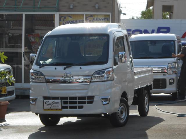 沖縄の中古車 ダイハツ ハイゼットトラック 車両価格 117.1万円 リ未 新車  ホワイト