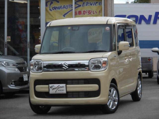 沖縄県の中古車ならスペーシア ハイブリッドX新車未登録