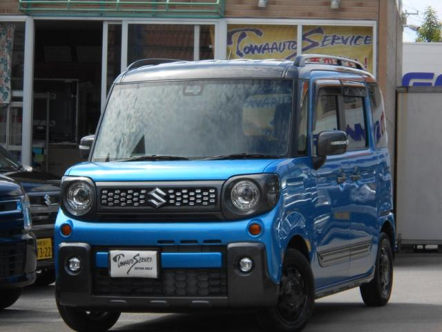 沖縄県の中古車ならスペーシアギア ハイブリッドXZ ターボ新車未登録
