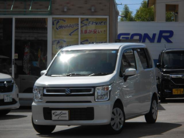 沖縄の中古車 スズキ ワゴンR 車両価格 95万円 リ済込 2018(平成30)年 0.8万km ピュアホワイトパール