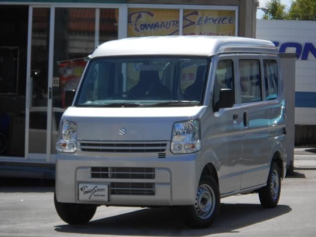 沖縄の中古車 スズキ エブリイ 車両価格 104.7万円 リ済込 新車  シルキーシルバーメタリック
