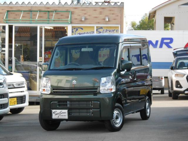 沖縄の中古車 スズキ エブリイ 車両価格 118万円 リ未 新車  クールカーキパールメタリック