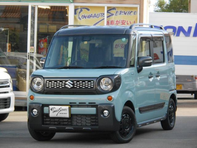 沖縄県沖縄市の中古車ならスペーシアギア ハイブリッドXZ新車未登録
