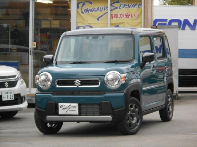 沖縄の中古車 スズキ ハスラー 車両価格 158.9万円 リ未 新車  デニムブルーメタリック2トーン