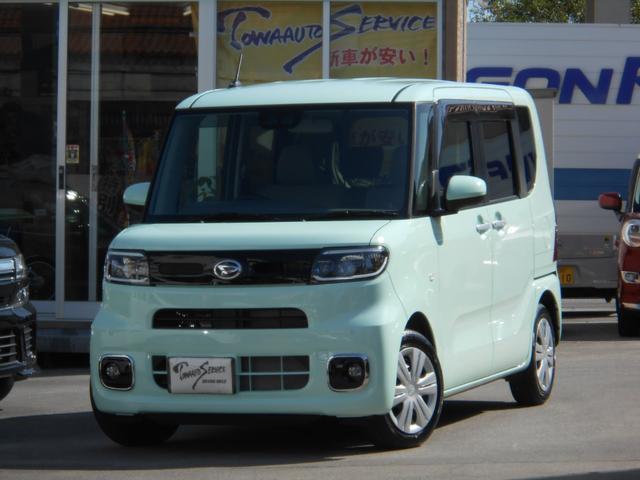 沖縄の中古車 ダイハツ タント 車両価格 158.9万円 リ未 新車  アイスグリーン