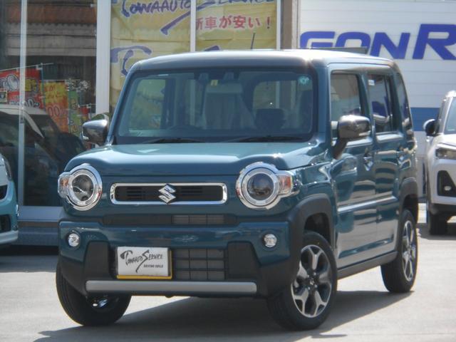 沖縄の中古車 スズキ ハスラー 車両価格 156.2万円 リ未 新車  デニムブルーメタリック/ガンメタリック2トーン