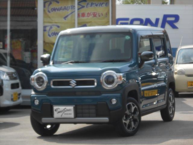 沖縄県の中古車ならハスラー ハイブリッドXターボ