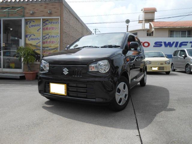 沖縄の中古車 スズキ アルト 車両価格 97万円 リ未 2021(令和3)年 0.8万km ブラウン