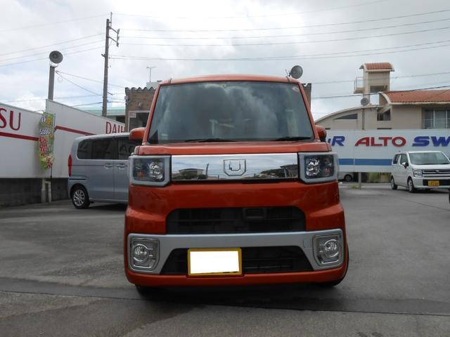 沖縄の中古車 ダイハツ ウェイク 車両価格 95万円 リ済込 2015(平成27)年 4.7万km オレンジ