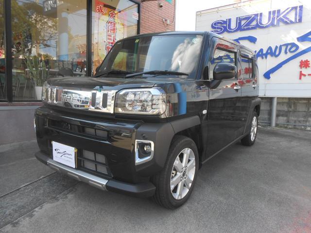 沖縄の中古車 ダイハツ タフト 車両価格 185万円 リ済込 2020(令和2)年 0.2万km ブラックM