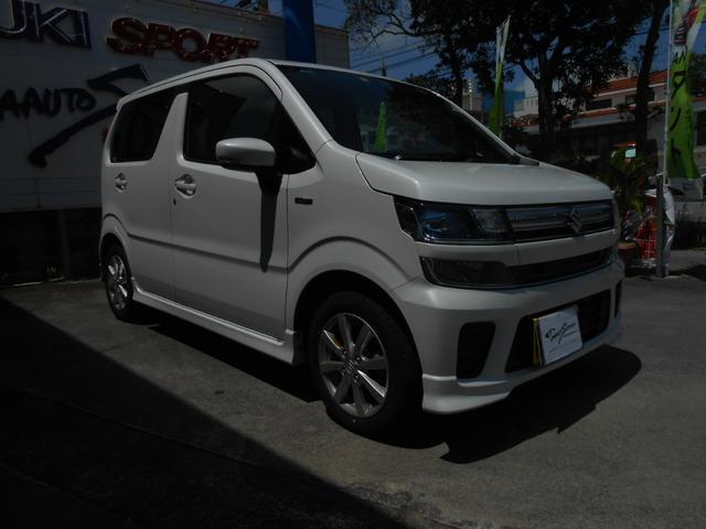 沖縄の中古車 スズキ ワゴンR 車両価格 144万円 リ未 2020(令和2)年 0.5万km パールホワイト