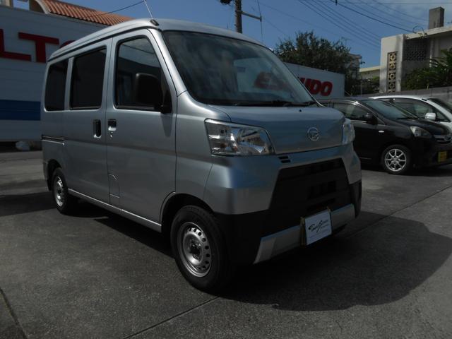 沖縄の中古車 ダイハツ ハイゼットカーゴ 車両価格 111万円 リ未 2020(令和2)年 314km シルバー