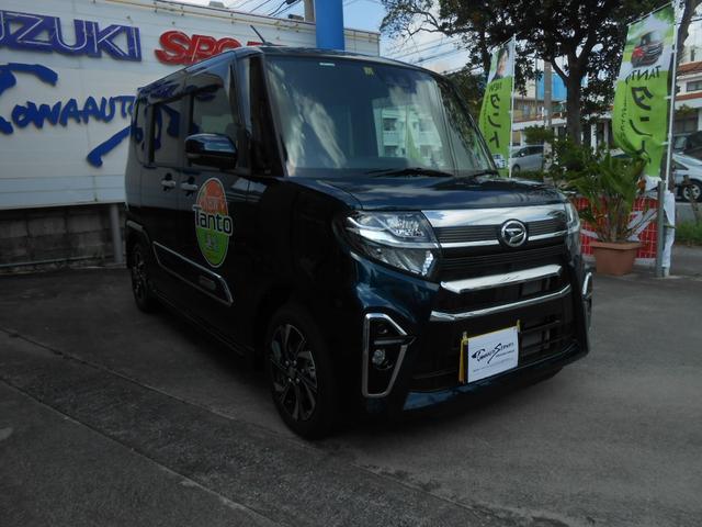 沖縄の中古車 ダイハツ タント 車両価格 195万円 リ未 2020(令和2)年 14km グリーンII