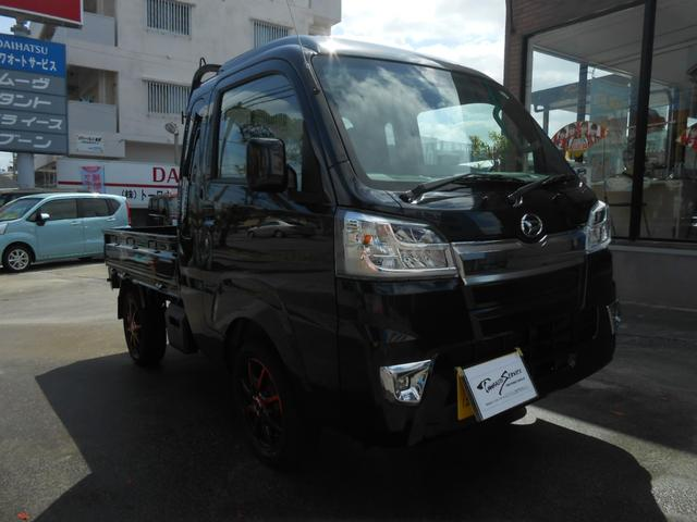 沖縄の中古車 ダイハツ ハイゼットトラック 車両価格 127万円 リ未 2020(令和2)年 14km ブラック