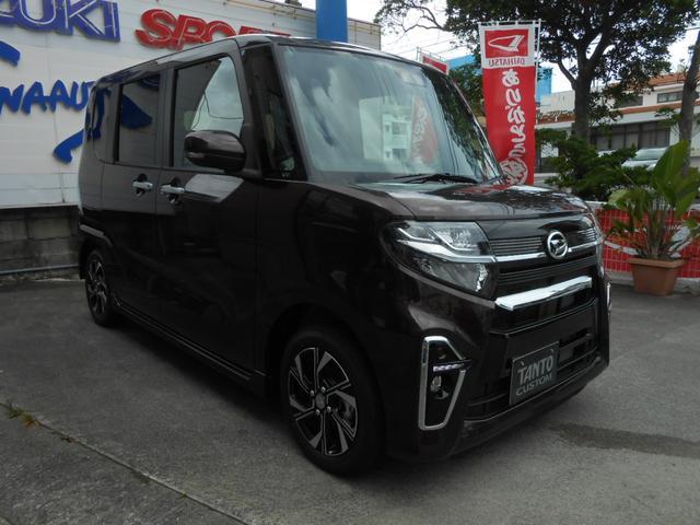 沖縄の中古車 ダイハツ タント 車両価格 195万円 リ済別 2021(令和3)年 7km DブラウンM