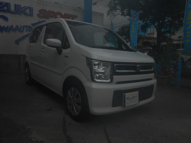 沖縄の中古車 スズキ ワゴンR 車両価格 99万円 リ未 2020(令和2)年 0.7万km ホワイト
