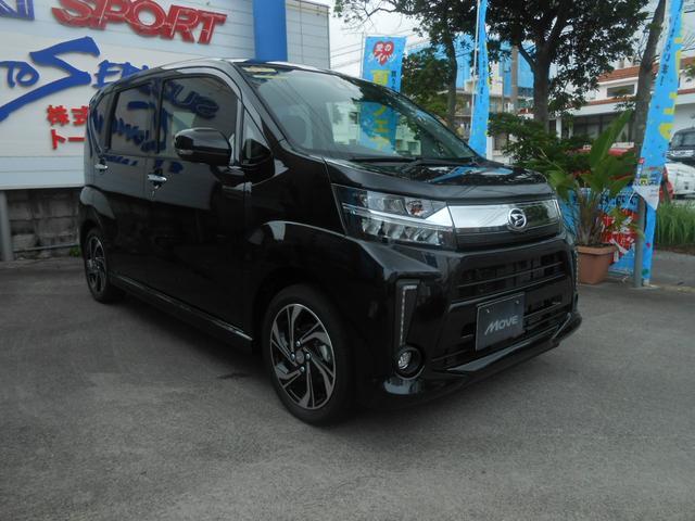 沖縄の中古車 ダイハツ ムーヴ 車両価格 165万円 リ未 2021(令和3)年 5km ブラック