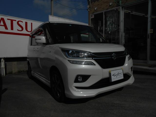 沖縄の中古車 スズキ ソリオバンディット 車両価格 185万円 リ未 2020(令和2)年 0.8万km パールホワイト