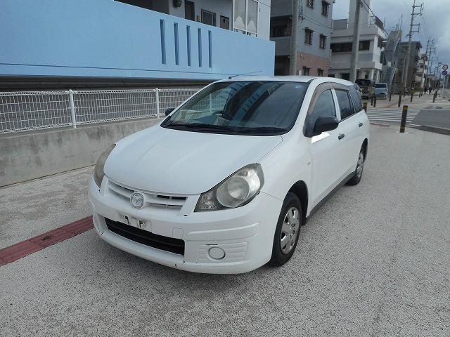 沖縄の中古車 マツダ ファミリアバン 車両価格 22.8万円 リ済込 平成19年 10.7万km ホワイト