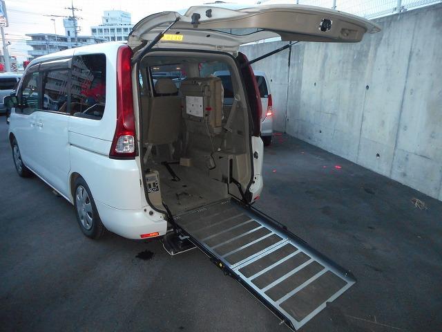 日産 福祉車両 スロープ式1基積み オートステップ付