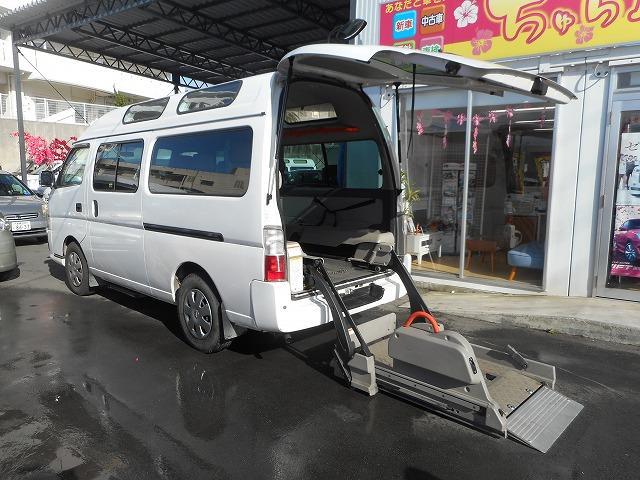 日産 福祉車両 2基積み リフト式