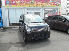 沖縄の中古車 スズキ ワゴンR 車両価格 72.8万円 リ済込 平成25年 3.1万K ブラック