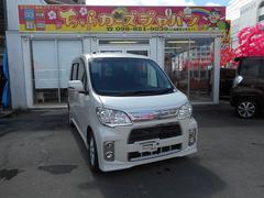 沖縄の中古車 ダイハツ タントエグゼ 車両価格 77.8万円 リ済込 平成24年 4.7万K パールホワイト