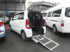 ワゴンR 福祉車両 スローパー 1基積 (車イス1台+2人=3人)(スズキ)