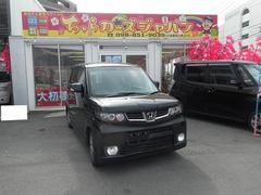 沖縄の中古車 ホンダ ゼストスパーク 車両価格 57.8万円 リ済込 平成23年 6.8万K ブラック