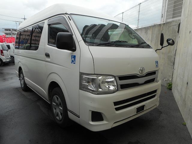 トヨタ 福祉車両 2基積 リフト式(8人+車イス2台=10人)